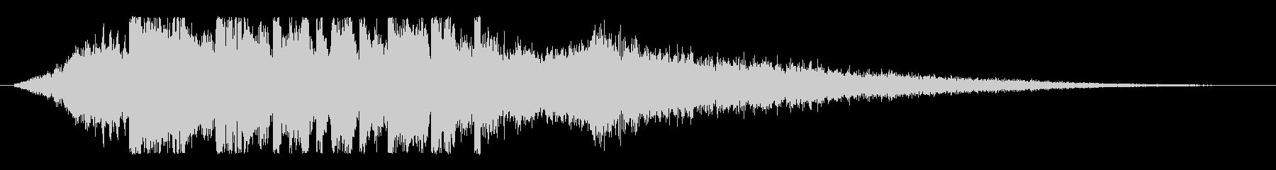 ディープ&クール!未来的デジタルロゴ!の未再生の波形