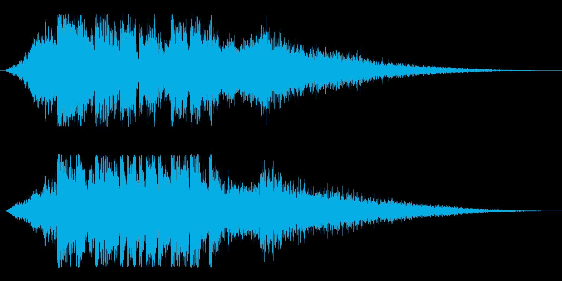 ディープ&クール!未来的デジタルロゴ!の再生済みの波形