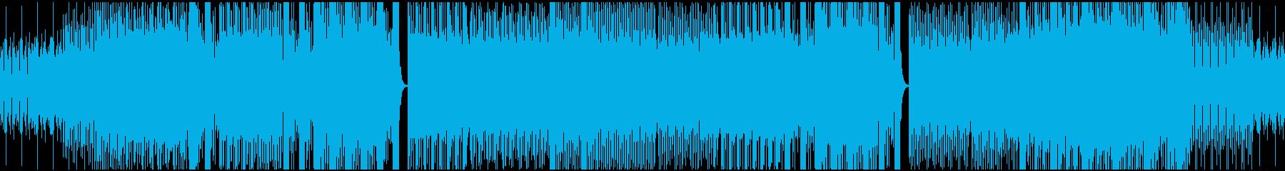 テクノ部族。シンセシーケンサー。の再生済みの波形