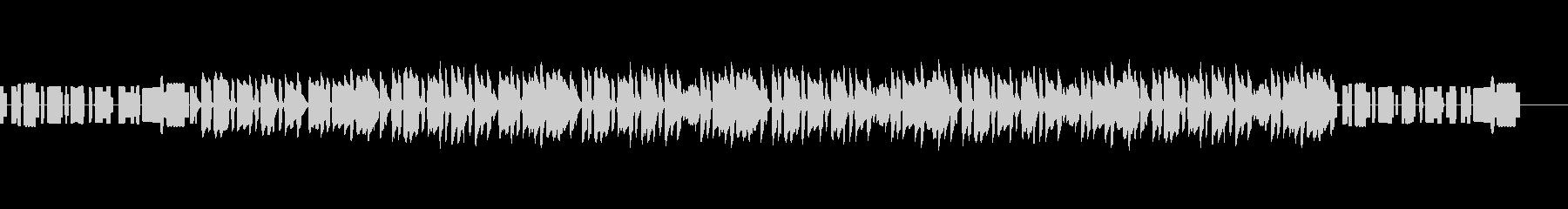 bpm64 上手な演奏バージョンの未再生の波形