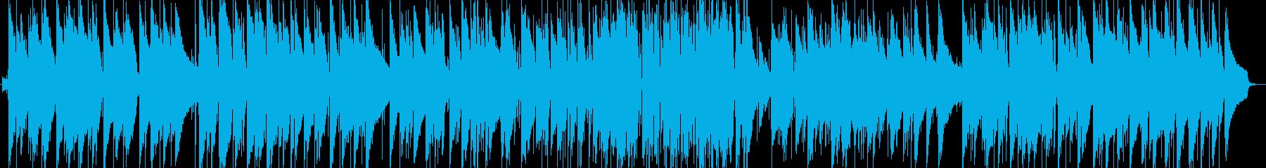 童謡のジャズピアノトリオの再生済みの波形