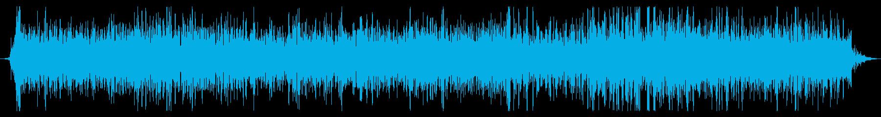 火炎放射器:ロングバーストの再生済みの波形