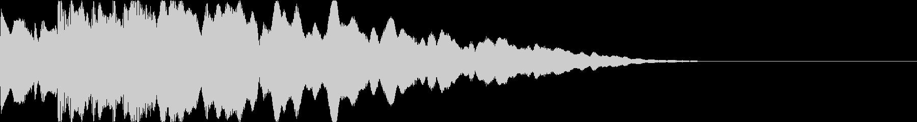 ピコーン:起動音・電子音cの未再生の波形