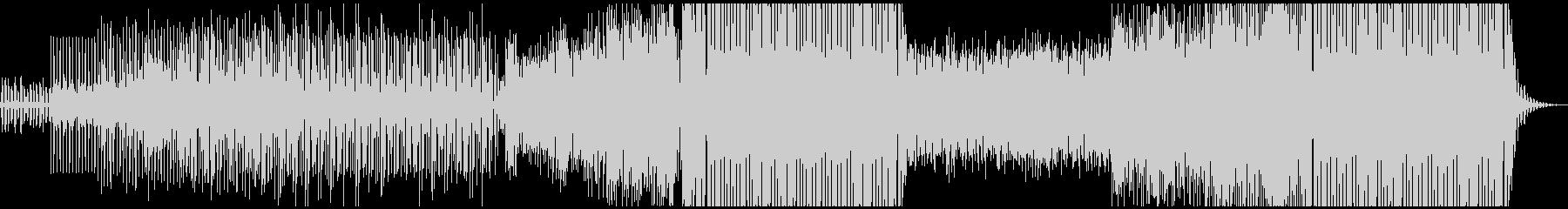 洋楽テイスト、トロピカルハウス、穏やかの未再生の波形