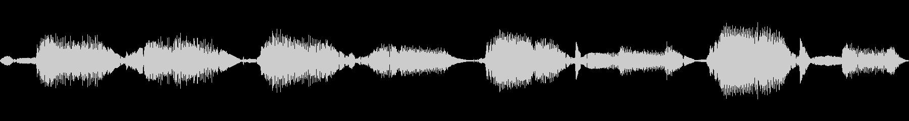 シンセが生成したループ。 Synt...の未再生の波形