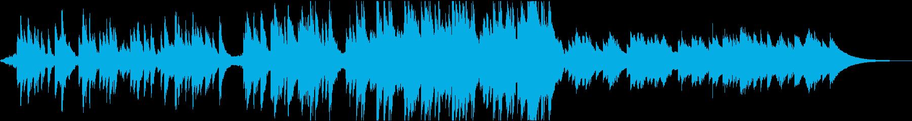 こころを癒すエピローグ向けBGMの再生済みの波形