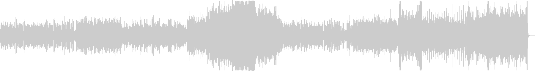 オーエストラによる壮大なBGMの未再生の波形
