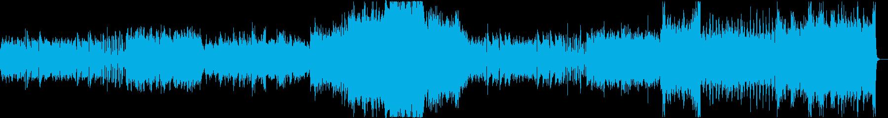 オーエストラによる壮大なBGMの再生済みの波形