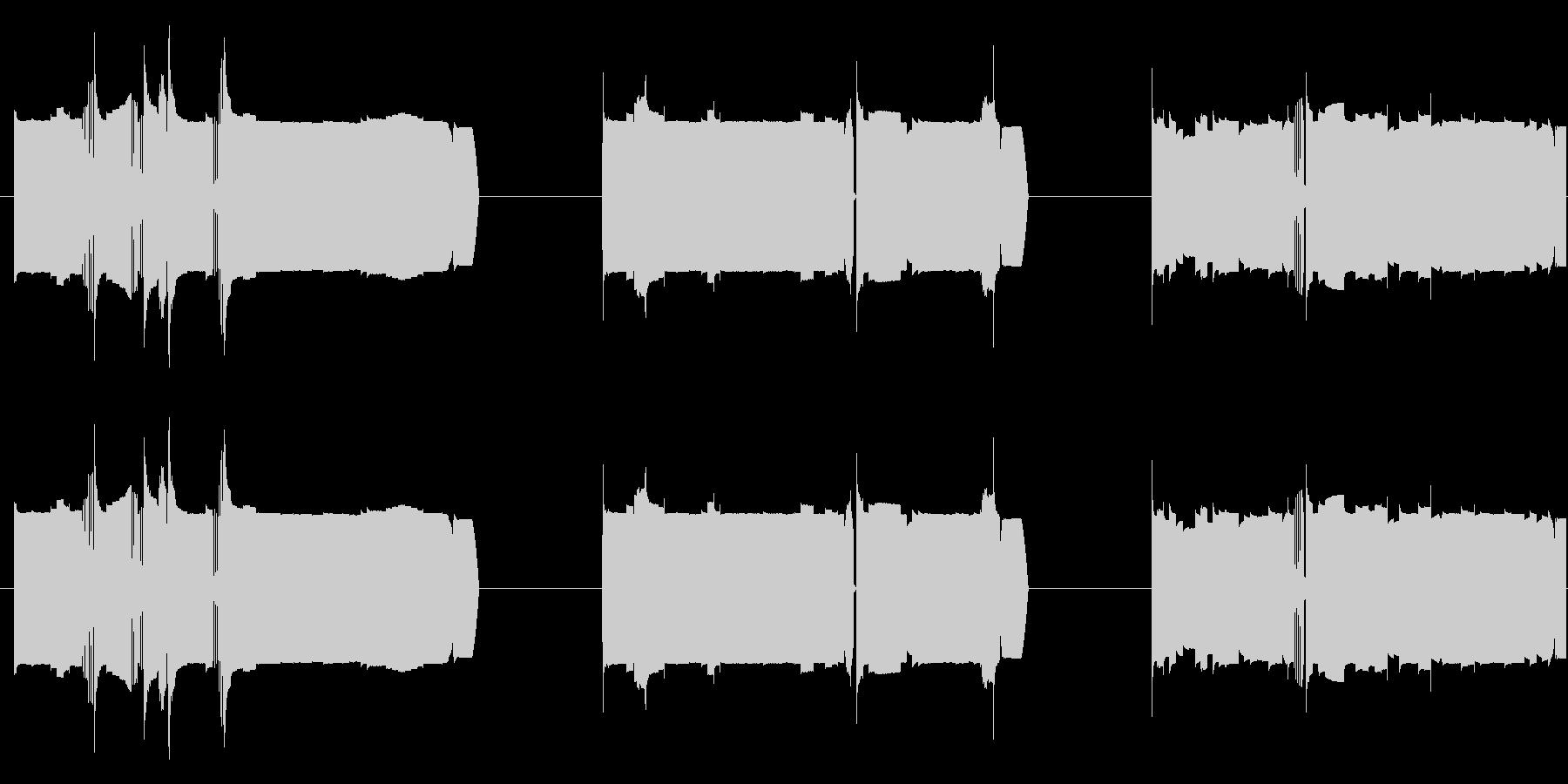 機械 カオスサインディストーション01の未再生の波形