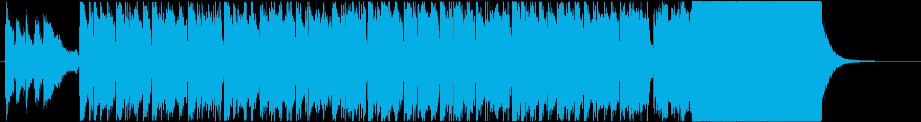鬱々→晴々/鉄琴/最後にファンファーレの再生済みの波形
