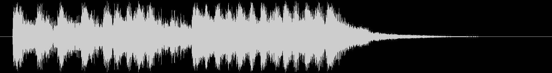 オーケストラロックの壮大なサウンドロゴ!の未再生の波形
