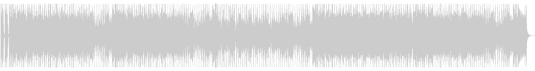 ハプニングの為のブギウギ・ギターロックの未再生の波形
