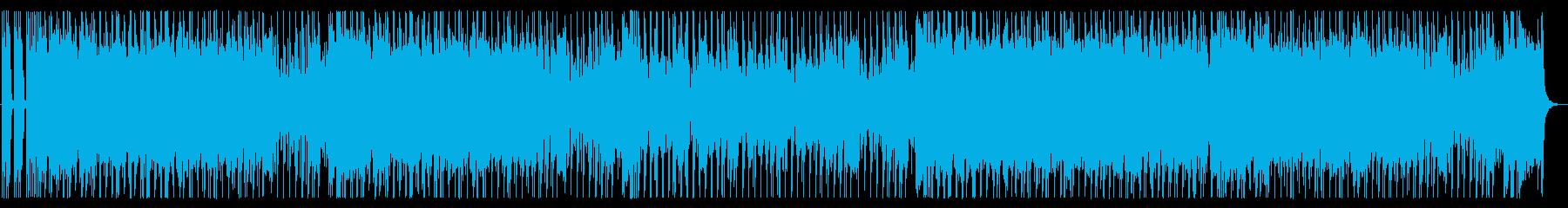 ハプニングの為のブギウギ・ギターロックの再生済みの波形