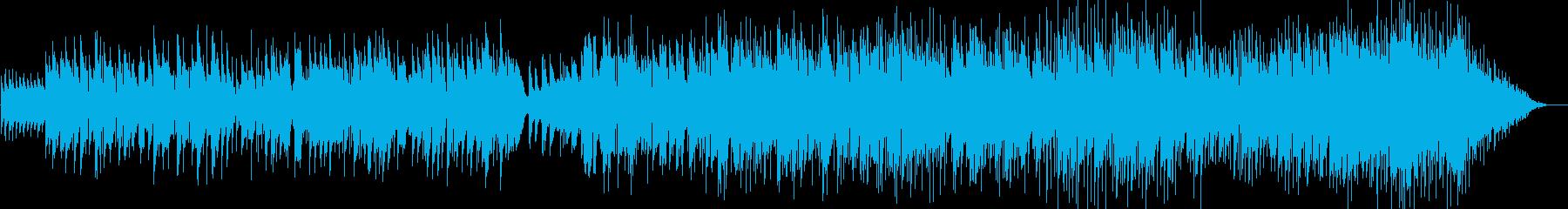 柔らかく温かいオリジナルソングの再生済みの波形