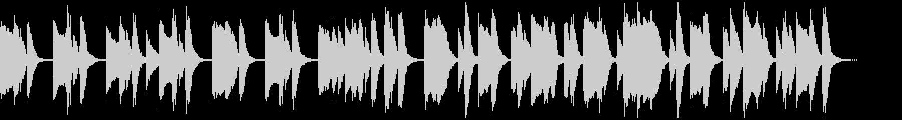 知育・料理・パズル・日常ピアノ15Aの未再生の波形