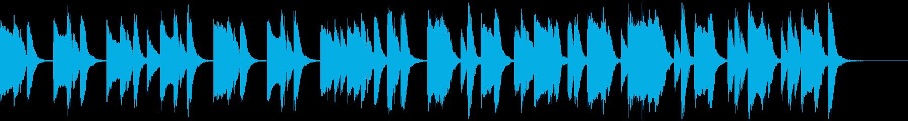 知育・料理・パズル・日常ピアノ15Aの再生済みの波形