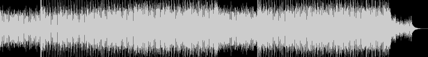 現代的で都会的なシンセミュージック-08の未再生の波形