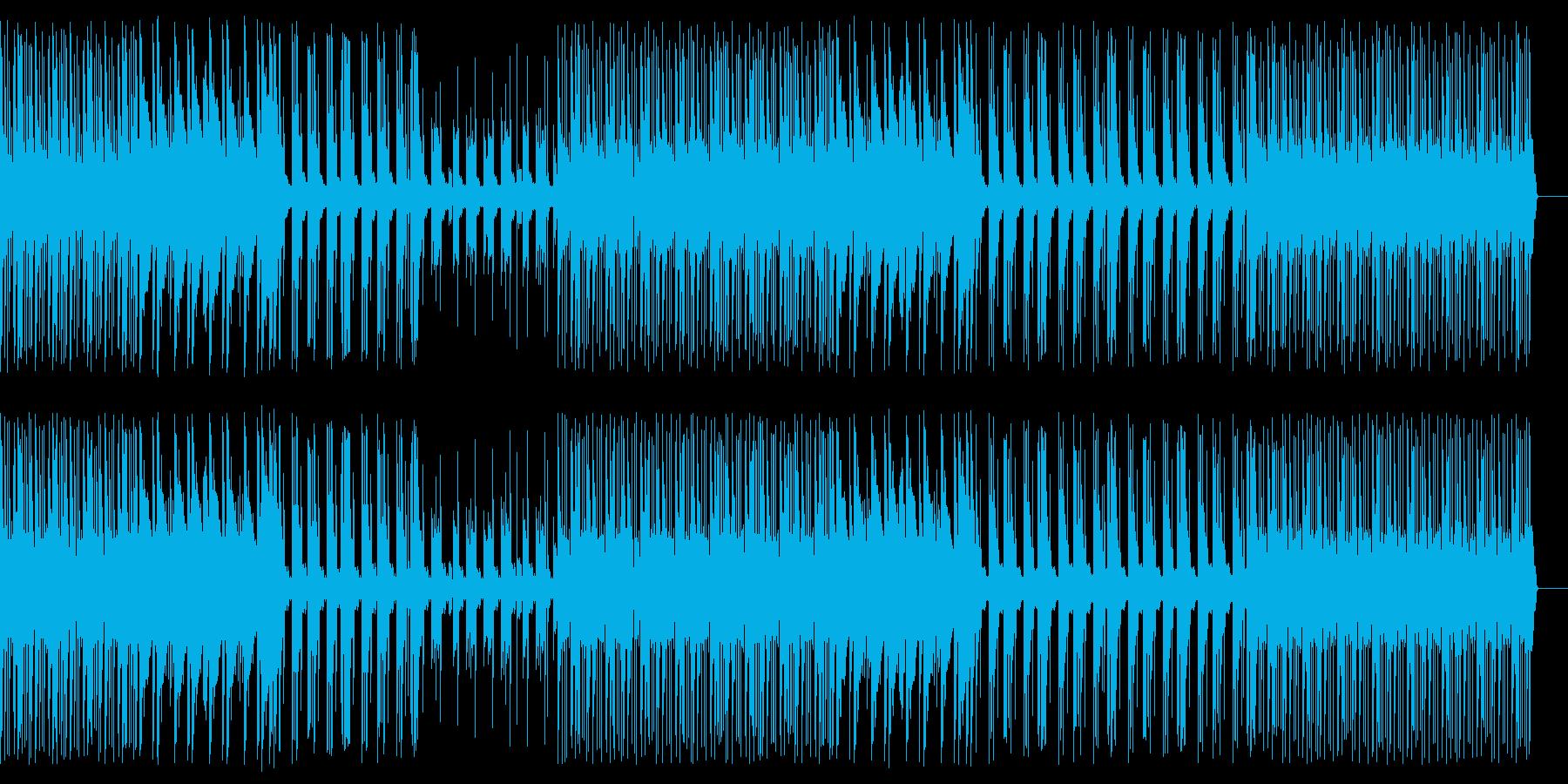 Trap/Deep/ヒップホップBeatの再生済みの波形