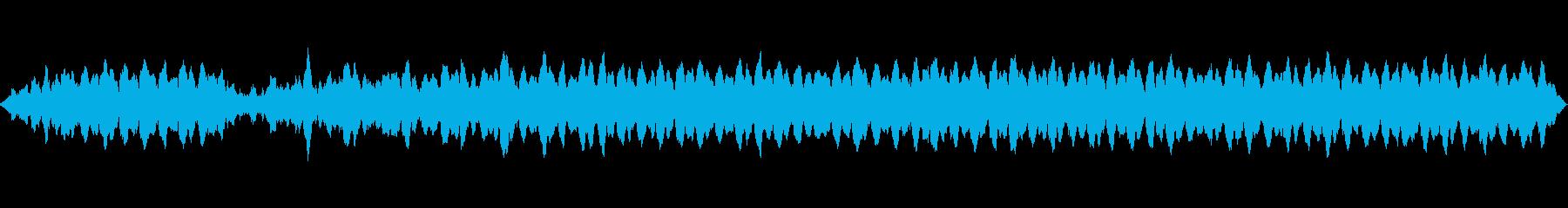 スキーリフトの再生済みの波形