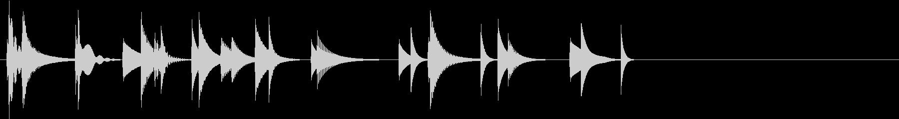 KANTクリックスクロール効果音2088の未再生の波形