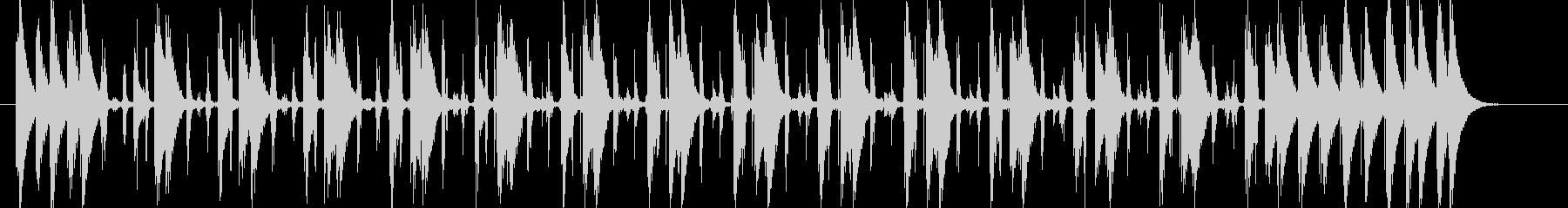 コンガの躍動するリズムLa Bomba2の未再生の波形