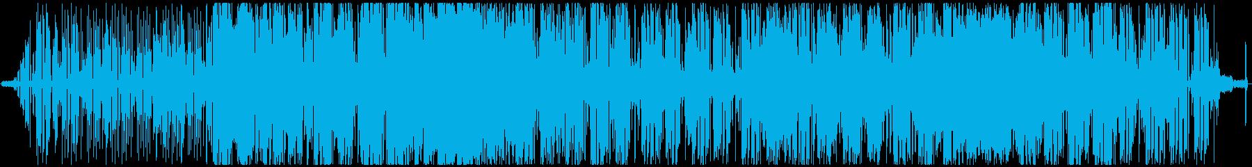 アングラ退廃、うなされ系女ボーカルの再生済みの波形