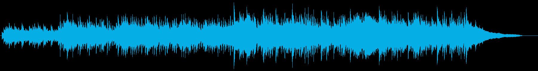 企業VP・90秒・爽やか・優しい・ピアノの再生済みの波形