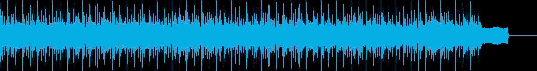 ポップ テクノの再生済みの波形