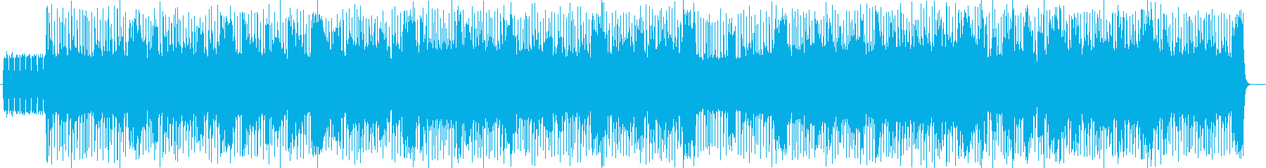 明るくリズミカルなポップスの再生済みの波形