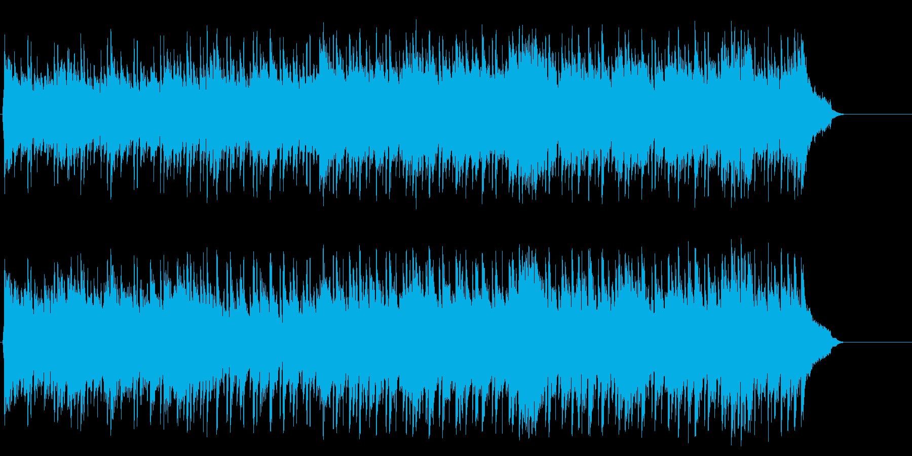 ポップ アコースティック(イントロ~…)の再生済みの波形