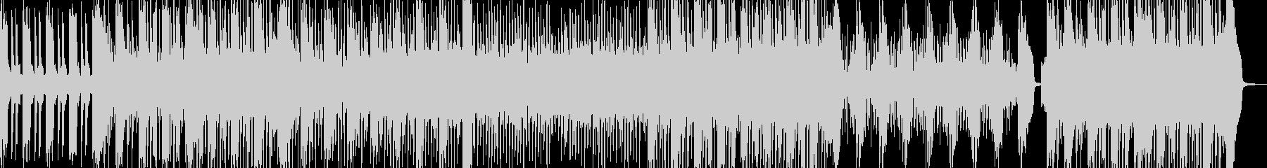 疾走感のあるトランス風サウンドの未再生の波形