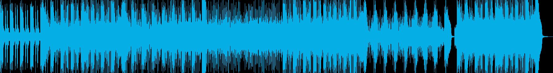 疾走感のあるトランス風サウンドの再生済みの波形