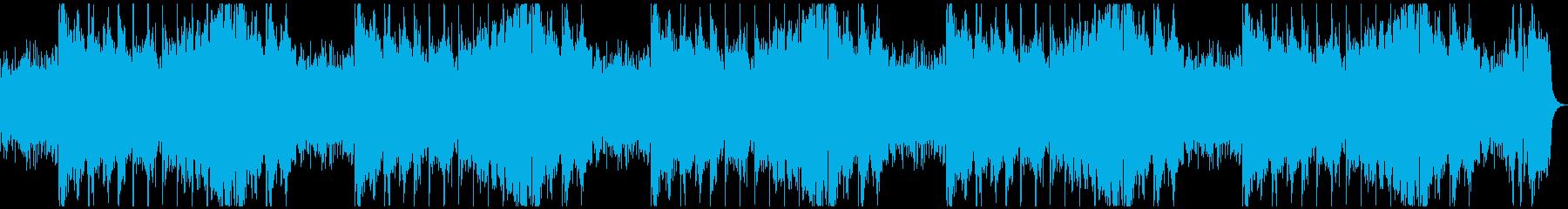 寂しく悲しい、ダークファンタジーホラーLの再生済みの波形