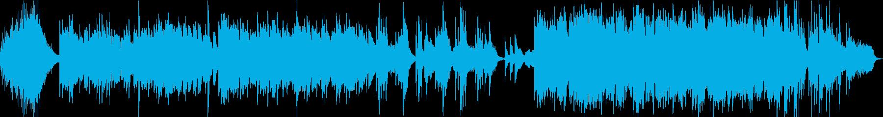 ヒーリング 感動 透明感 映像 CMにの再生済みの波形