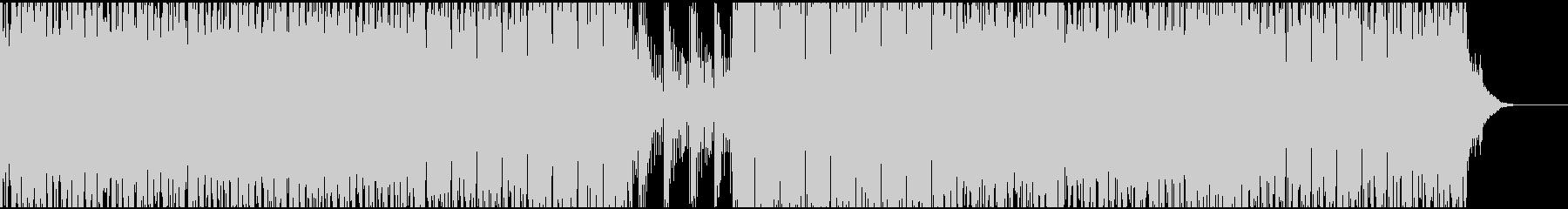 低音が効いた力強いシンセサウンドEDMの未再生の波形
