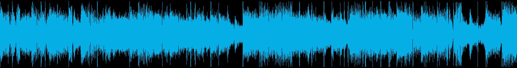 ループ仕様グリッチトロニカの再生済みの波形
