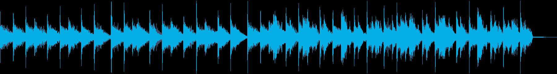 【CM】クールでオシャレなBGM・10の再生済みの波形