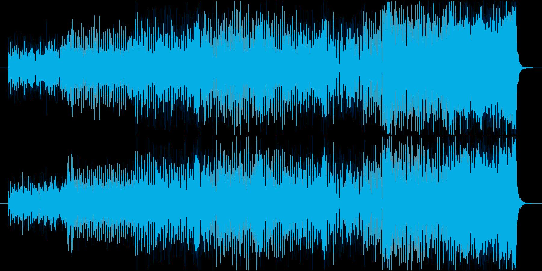 爽やかでわくわく 映像・企業VP用BGMの再生済みの波形