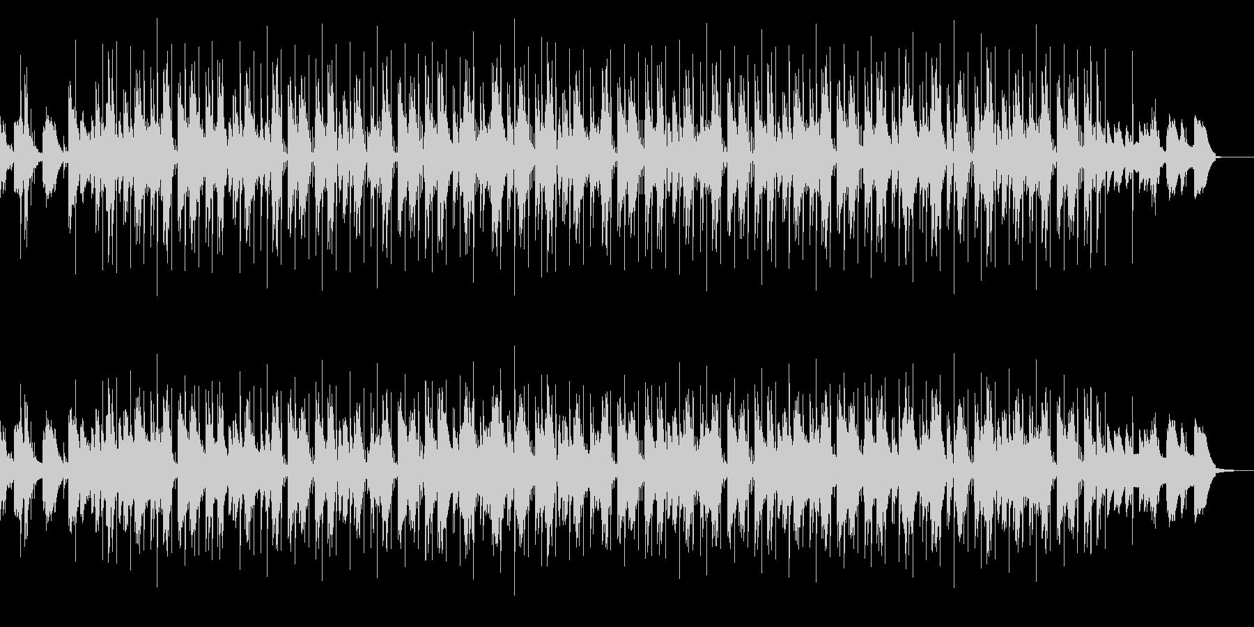 夜行性HIPHOPの未再生の波形
