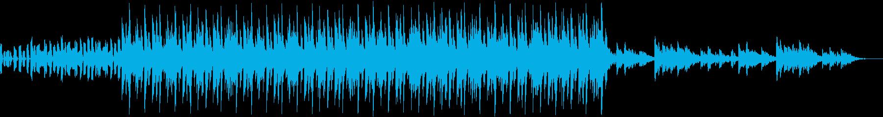 明るい、楽しい、爽やか、EDMの再生済みの波形