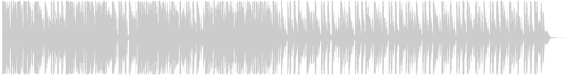 ゆったりしたテンポのループ音源です。の未再生の波形