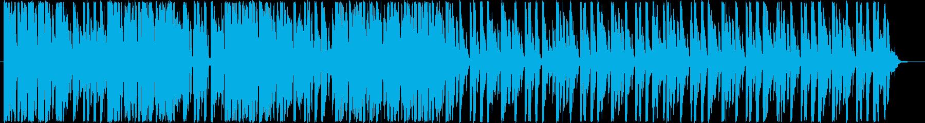 ゆったりしたテンポのループ音源です。の再生済みの波形
