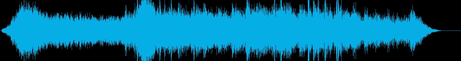 ホラー系のアンビエントです。の再生済みの波形