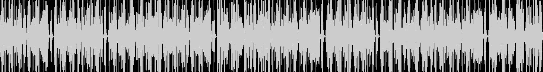 メロディの少ない可愛いポップス(ループ版の未再生の波形