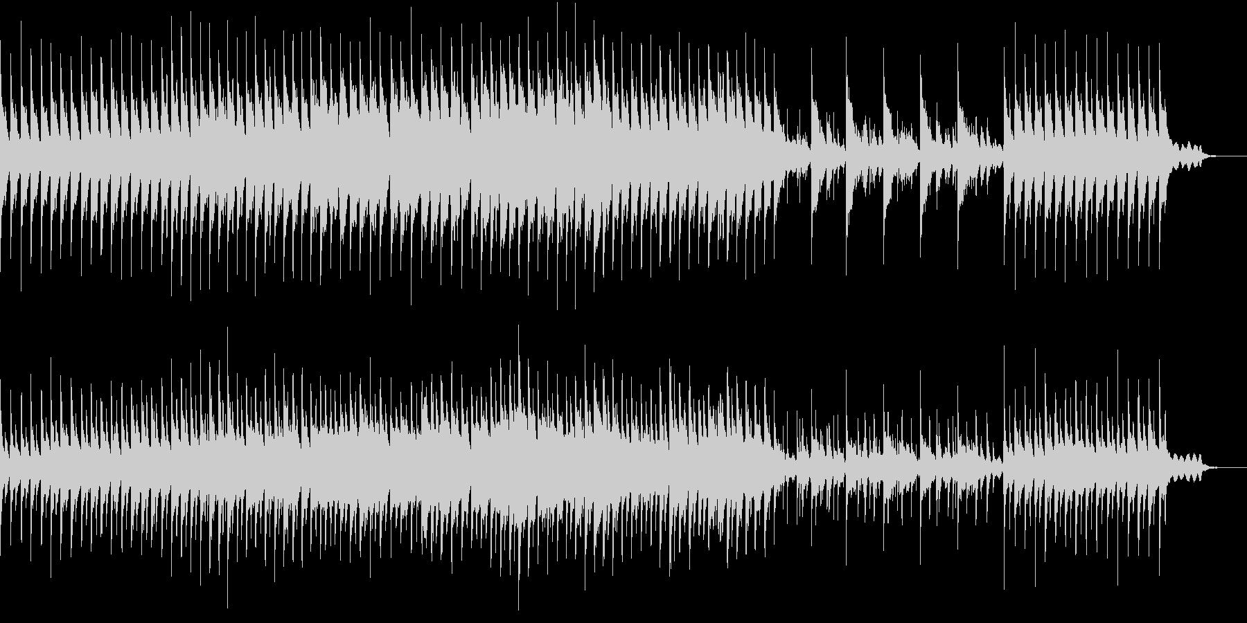 古代伝承を語るイメージのサウンドトラックの未再生の波形