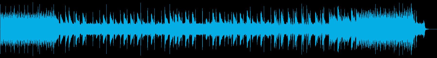 8bit 軽快なチップチューン1コーラスの再生済みの波形