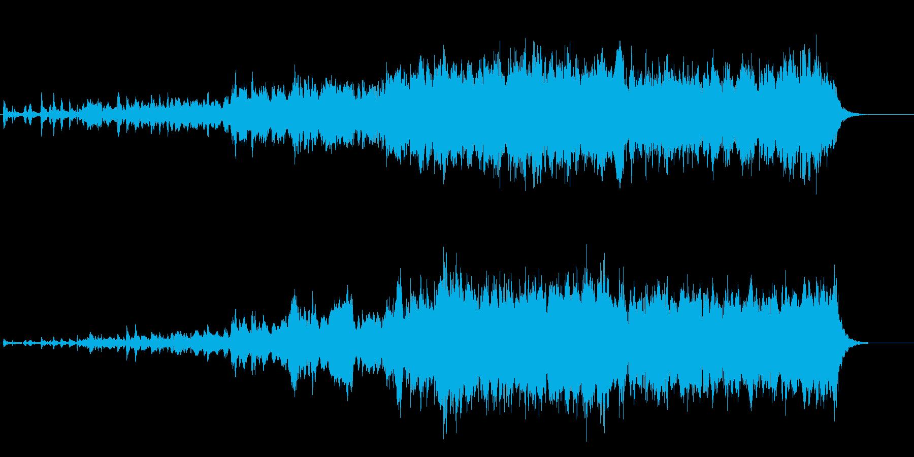スパースメロディーからクライマック...の再生済みの波形