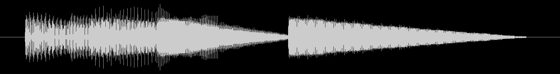 GB風レースゲームのジングルの未再生の波形