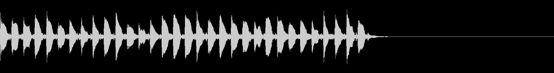 (話す、テキスト表示)長めA01の未再生の波形