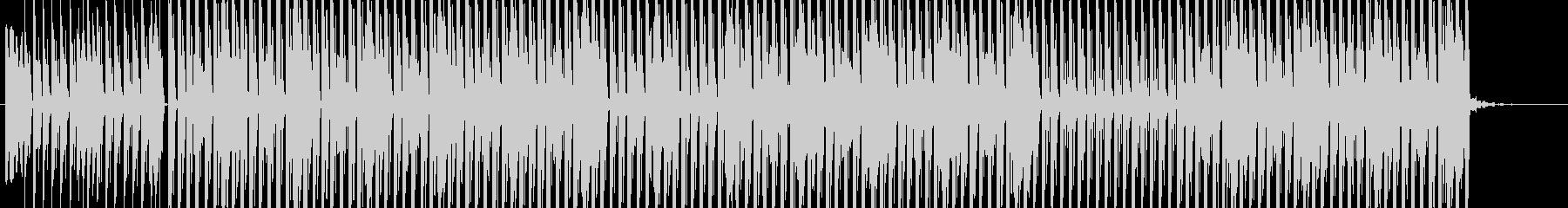 ヒップホップインストゥルメンタルは...の未再生の波形